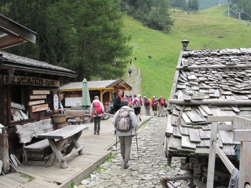 Rando vers le Klaussee par Speck und Schnapsalm