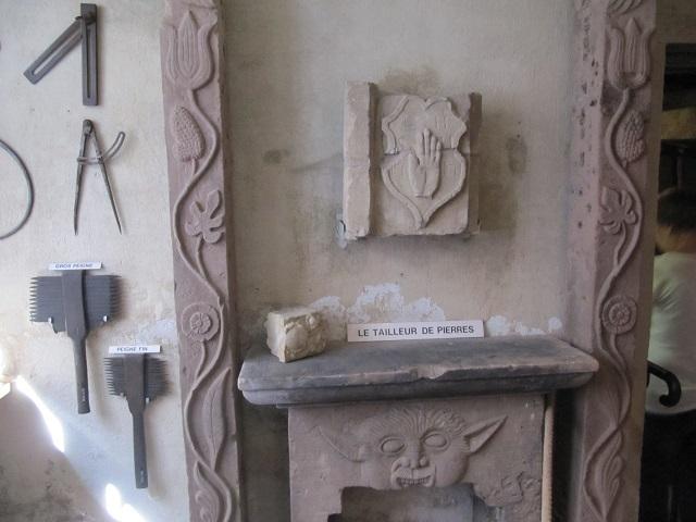 Musée de Marmoutier - Tailleur de pierres