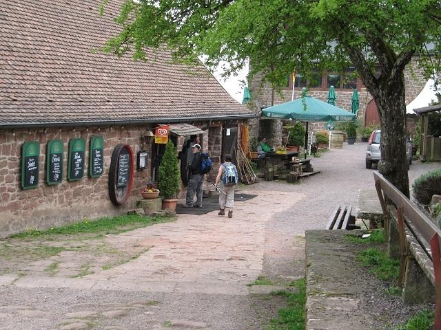 Auberge au château Madenburg