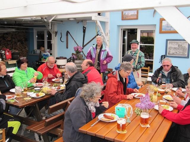 Pause repas à Schnersheim