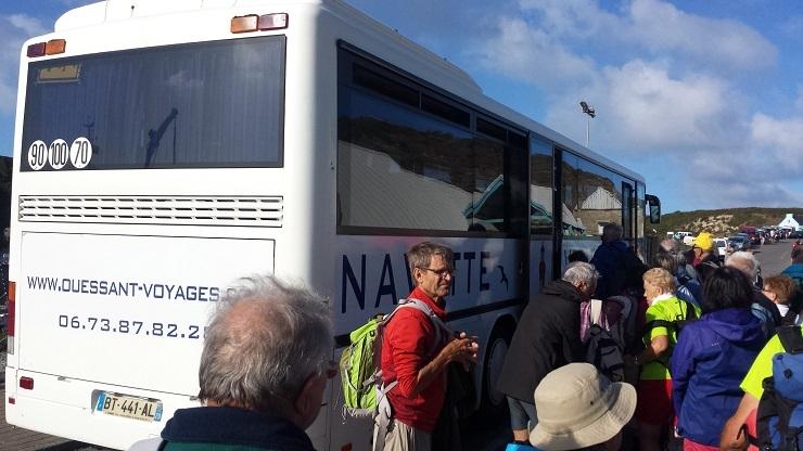 044 Navettes à Ouessant vers Lampaul