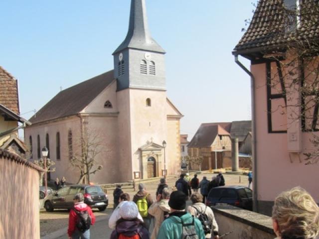 Eglise à Wangen