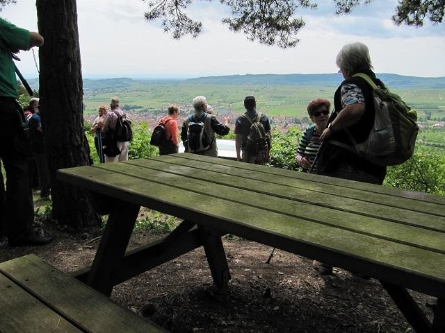 A la table d'orientation du Geierstein