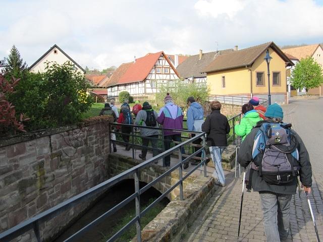 Passage sur la Souffel à Kuttolsheim