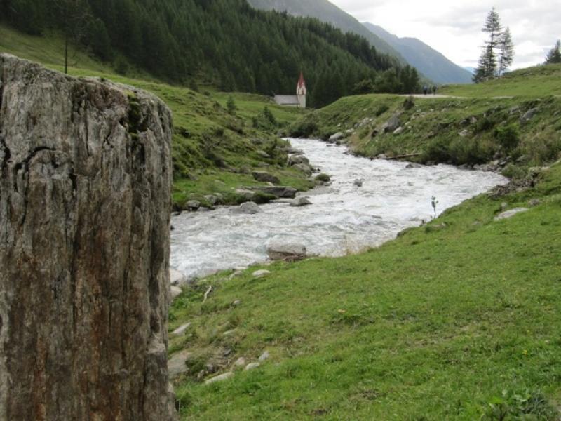Retour par la belle vallée de l'Ahrntal