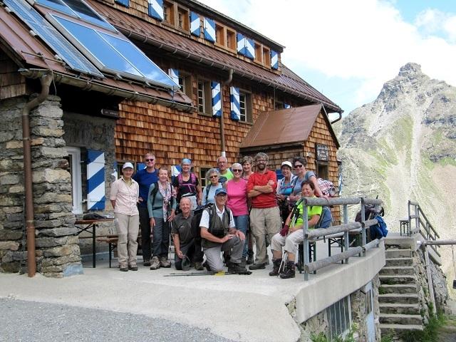 Les 2 groupes réunis - Saarbrücker Hütte