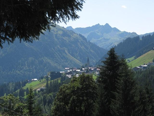 Vue sur Mittelberg