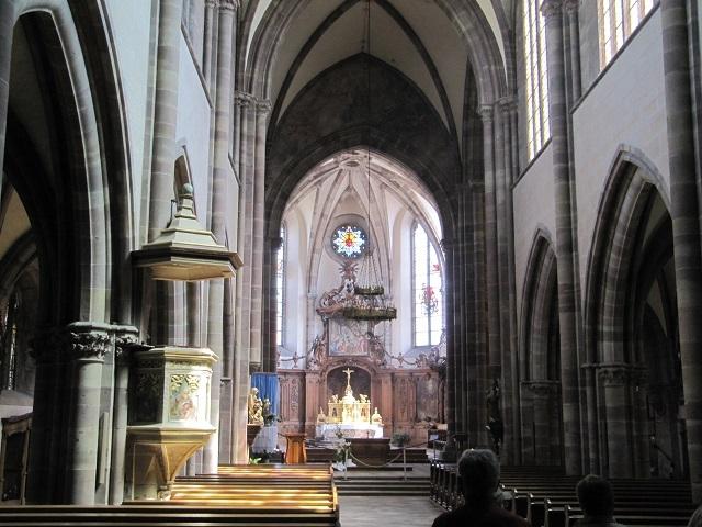 Intérieur de l'Abbaye de Marmoutier