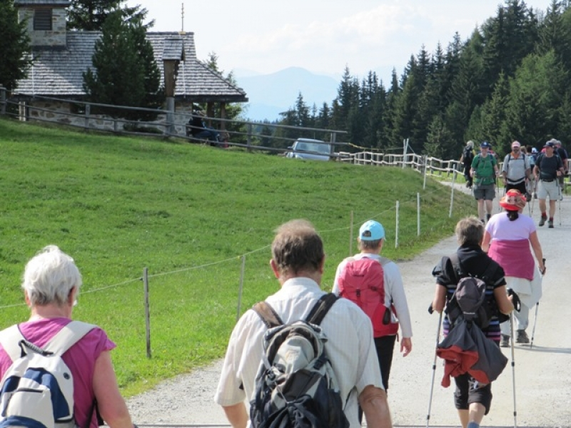 Retour par la chapelle Pianer Kreuz