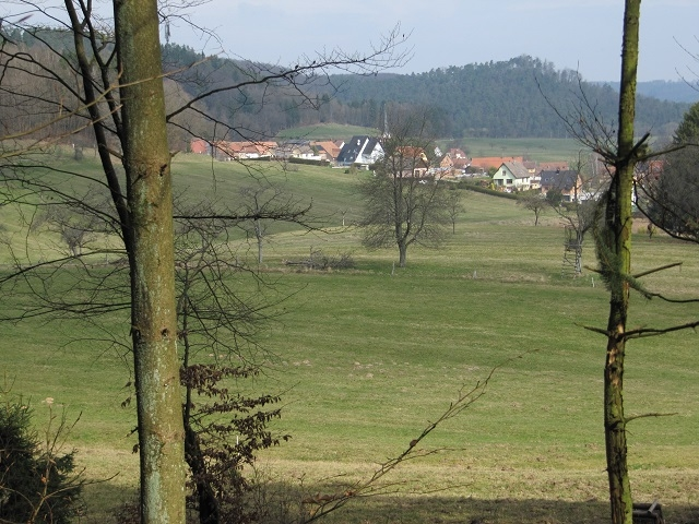 Vue sur Zittersheim