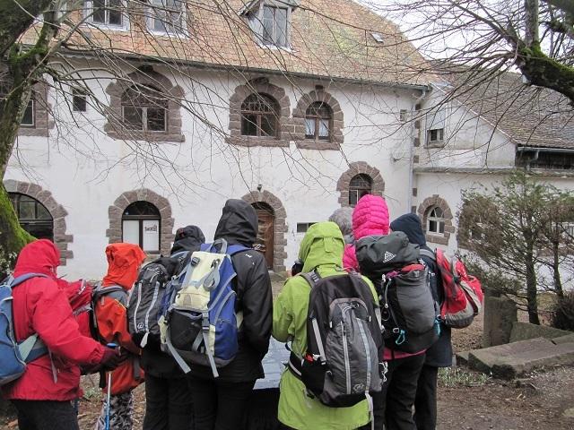 Ancienne auberge transformée en siège de la Kommandantur