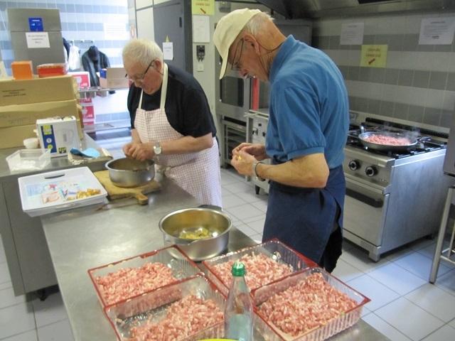 Les chefs en cuisine à Wasselonne