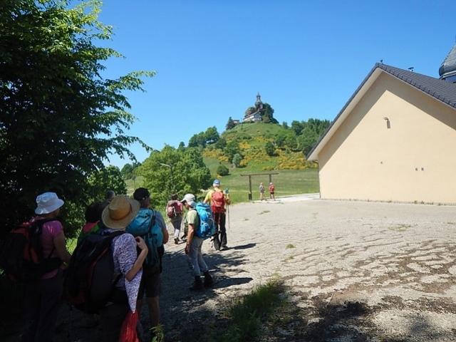 Marche vers Le Rocher de Dabo