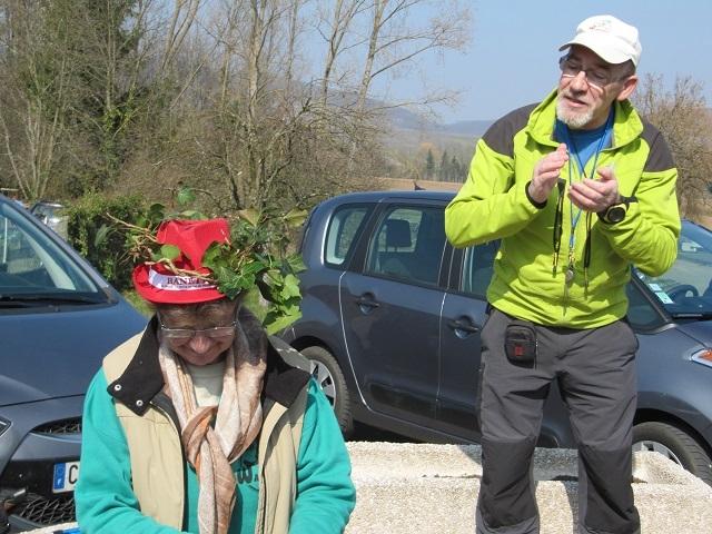 L'organisatrice et le guide