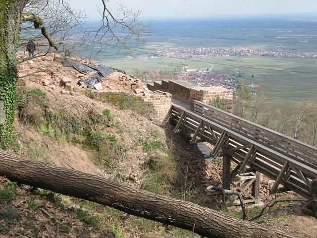 Vue depuis le Château Rietburg