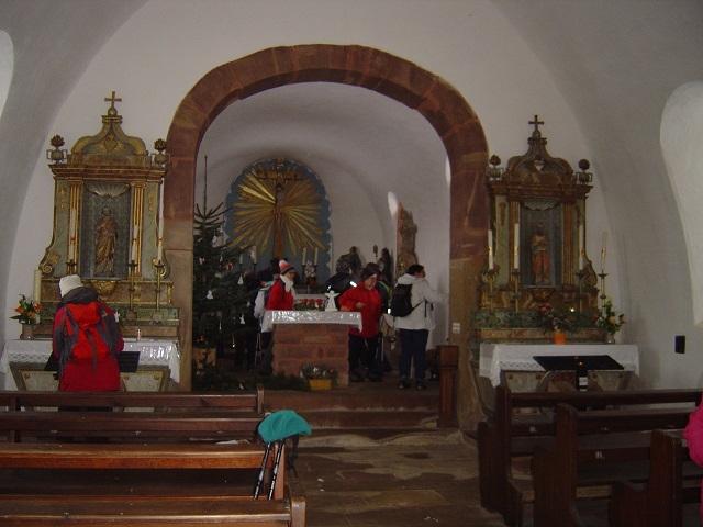 Intérieur de la Chapelle de Hohengoeft