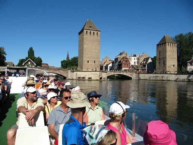 Strasbourg - Visite en Batorama - Les Ponts Couverts
