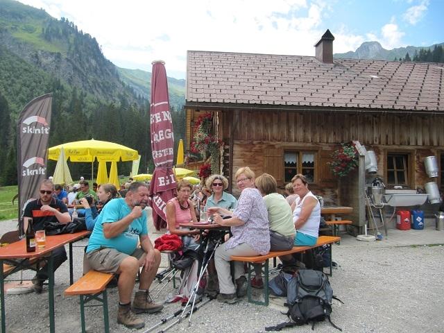 Bärgunt-Hütte - Pause déjeuner