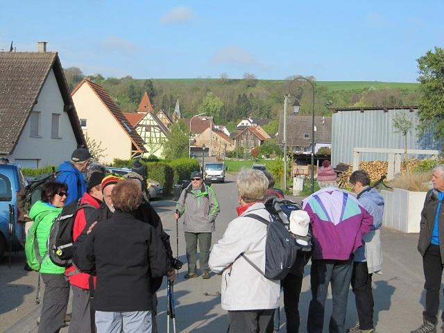 Départ à Wintzenheim