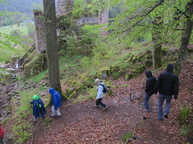 Passage au château de Freudeneck