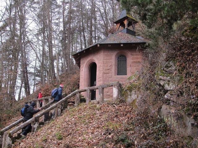 Chapelle Catherine sur le chemin vers le Guirbaden
