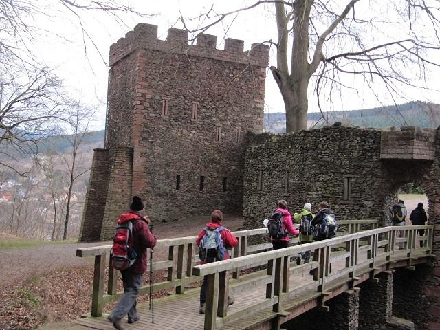 Entrée au Château de Schirmeck