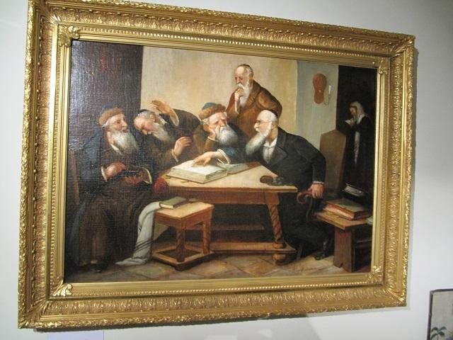 Musée de Marmoutier - Tableau  - Enseignement juif