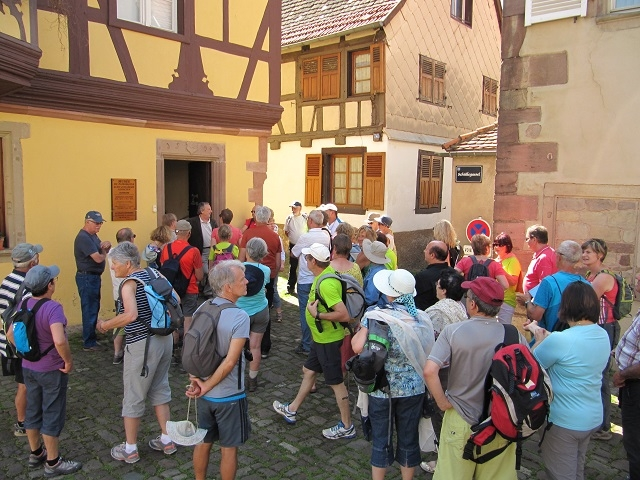 Devant le Musée de Marmoutier