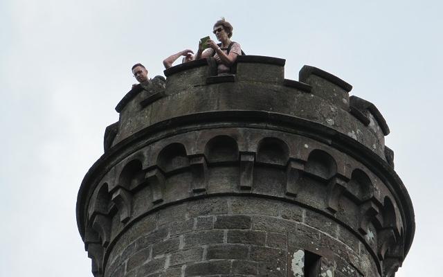 Sommet de la tour du Brotsch